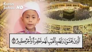 Murottal Aza Hafiz - surah Al-Mulk - Indonesia 2014