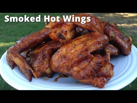Smoked Hot Wings | How To Smoke Buffalo Chicken Wings with Malcom Reed HowToBBQRight
