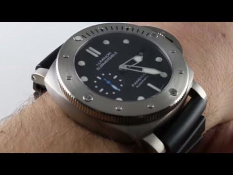 Panerai Luminor Submersible PAM1305 Luxury Watch Review