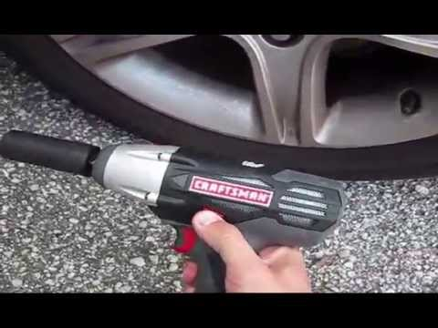 Craftsman C3 19 2 Volt Cordless 1 Impact Wrench Kit 17339 Unboxing Review Testing You