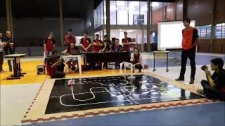 Estudantes da Satc participam do Campeonato de Robótica