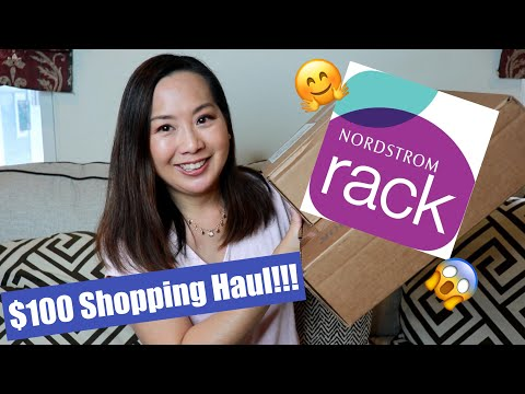 Nordstrom Rack | Clear The Racks! | $100 Shopping Haul | March 2020