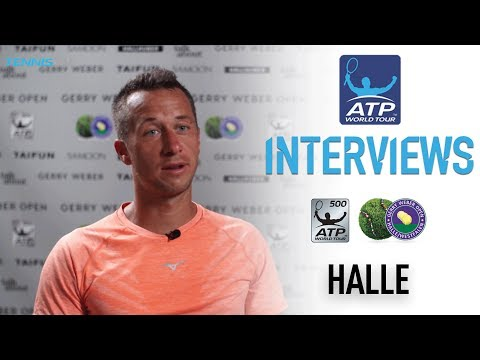 Kohlschreiber Discusses Win Against Sousa In Halle 2017