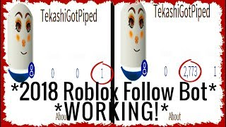 NEW! 2018 ROBLOX FOLLOWERS BOT 100% *FREE!* *PATCHED 12/25/2018*