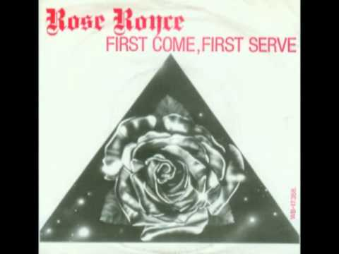 ROSE ROYCE - FIRST COME FIRST SERVE (Extended Version)