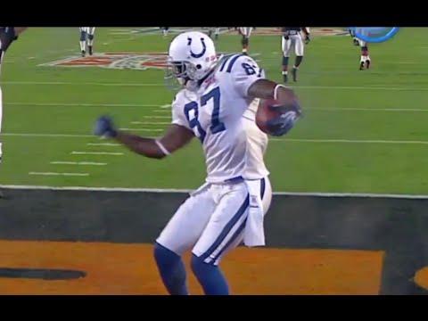 Reggie Wayne Touchdown Super Bowl XLI