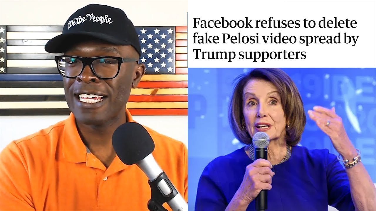 Anthony Brian Logan - Media Accuse TRUMP AND Supporters Of Pushing FAKE Pelosi Videos!