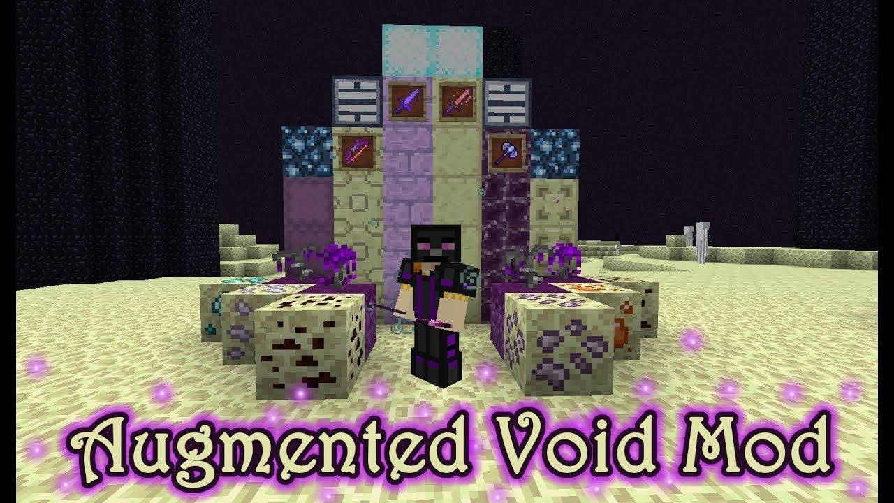 ENDER IMPROVEMENT - Augmented Void Mod - Minecraft Mod Showcase