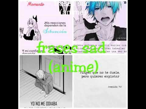 Frases Sad Anime Youtube