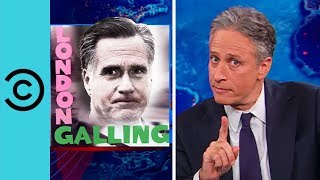 Mitt Romney's Olympic Gaffe | The Daily Show