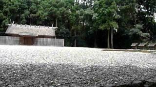 [三重県]伊勢神宮の宮社「神麻続機殿神社」