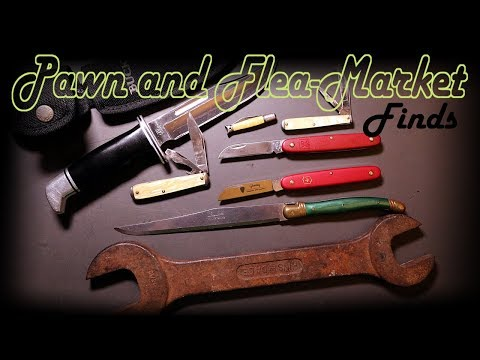 Buck Knife Pawn Trade + Flea-Market Pocket...