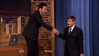 Benedict and Martin dance on Jimmy Fallon show