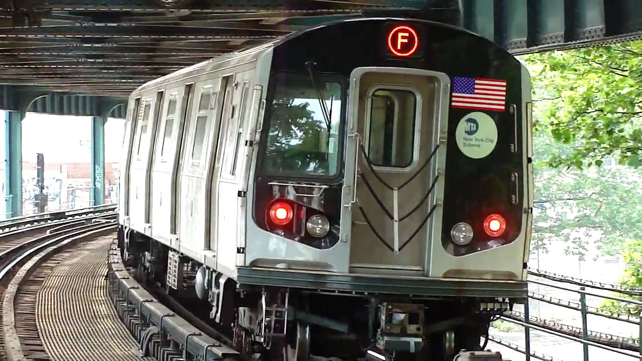 MTA New York City Subway : Coney Island Bound R160B F