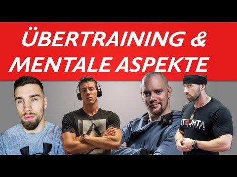 ÜBERTRAINING & MENTALE ASPEKTE IM BODYBUIDING feat. Pascal Su, Lars Richmann, Frank Taeger