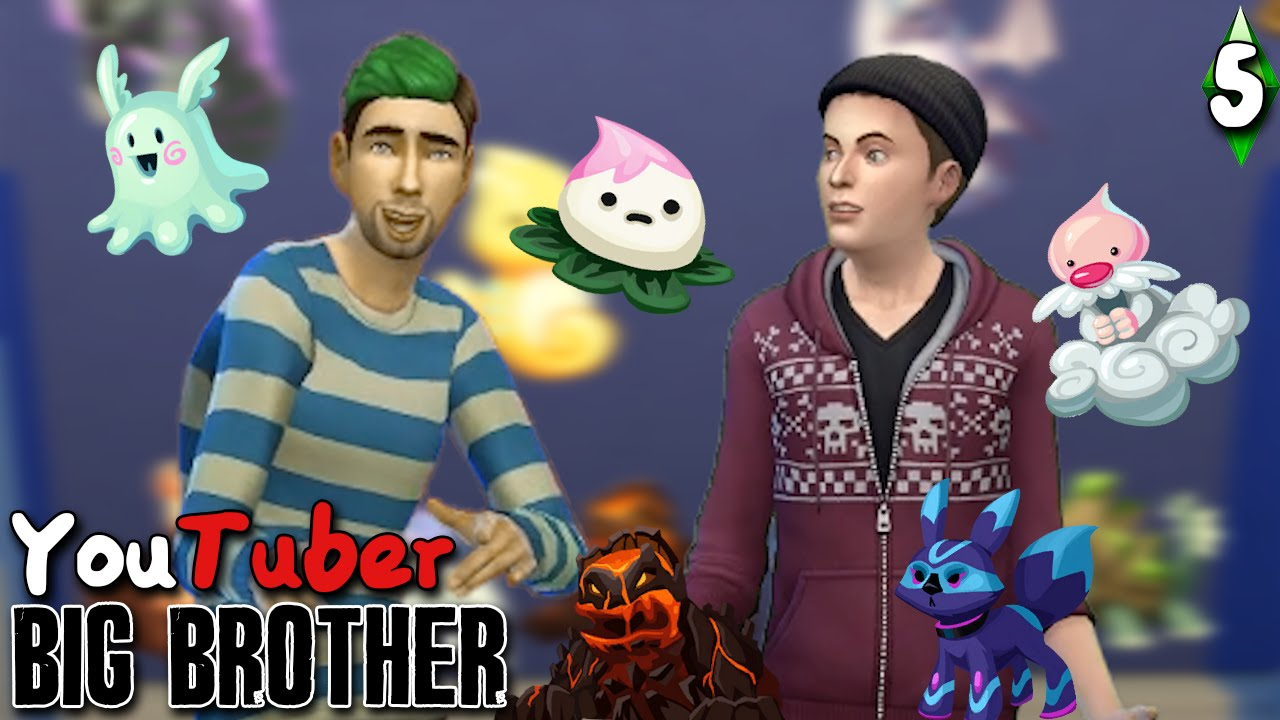 GOTTA CATCH 'EM ALL | YouTuber Big Brother Episode 5 | The Sims 4