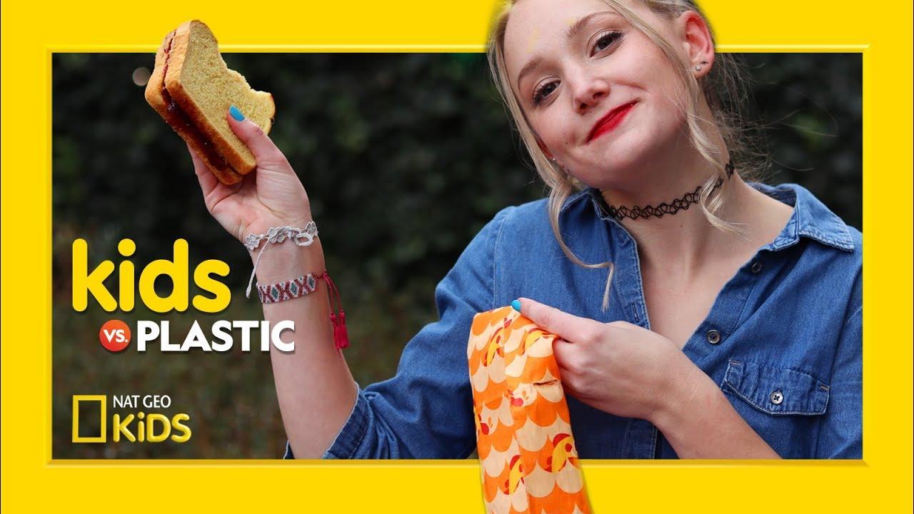 DIY Reusable Sandwich Wrap | Kids Vs. Plastic