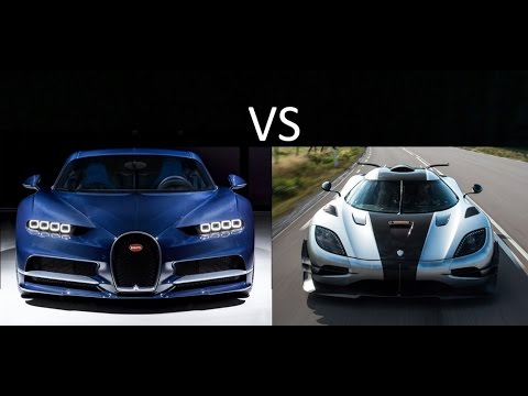 Bugatti Chiron vs Koenigsegg Agera: One. And other main competitors