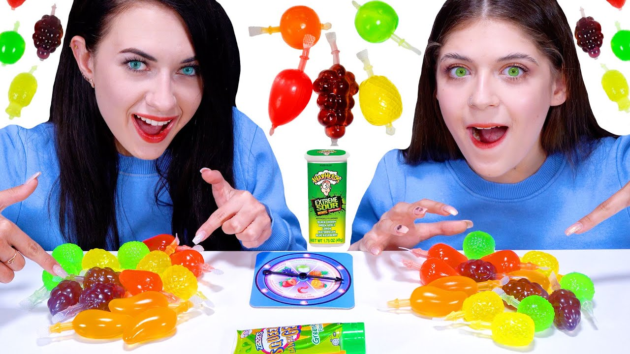ASMR TikTok Jelly Fruit Candy Game with Most Popular Sour Candy #2