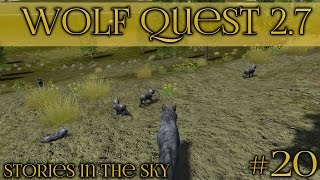 Dreams for a New Litter of Wolf Pups 🐺 Wolf Quest 2.7 - Stories in the Sky 🐺 Episode #20
