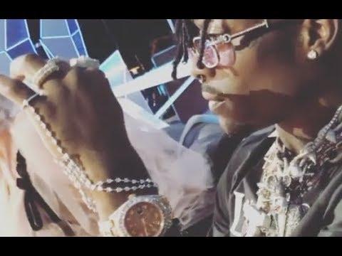 Lil Uzi Vert Gets Bored At MTV VMA's Starts Smoking Weed Next To Miley Cyrus