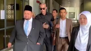 Sebak! Alif Aziz Jumpa Anak di Mahkamah Bagi Sebutan Cerai dengan Bella Astillah