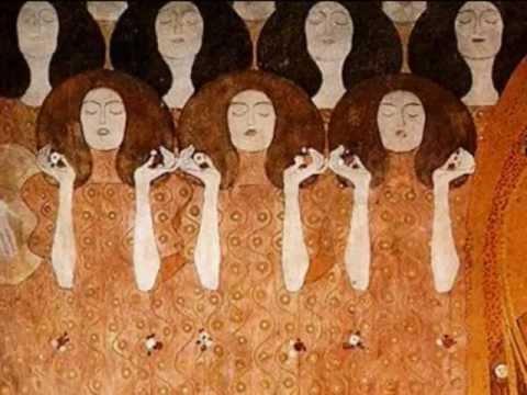 Ludwig van Beethoven, Finale-Symphony No. 9, Gustav Klimt - YouTube