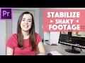 Stabilize Shaky Footage Adobe Premiere Tutorial mp3