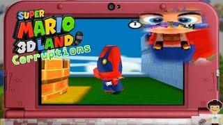 Corrupting Super Mario 3D Land! | 3DS Game Corruptions