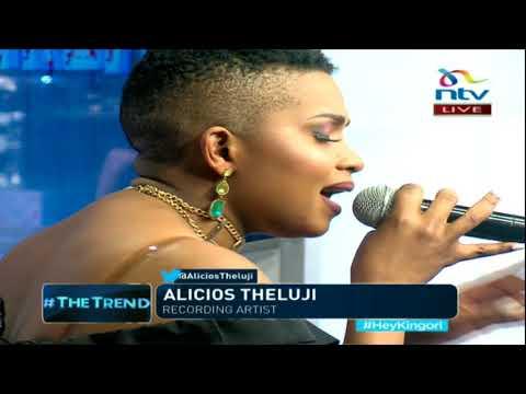 Meet Congolese artist Alicios Theluji #theTrend