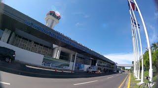 LLEGAMOS AL AEROPUERTO INTERNACIONAL DE EL SALVADOR.