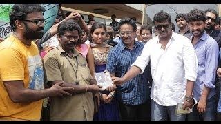 Jannal Oram launches audio at bus stops