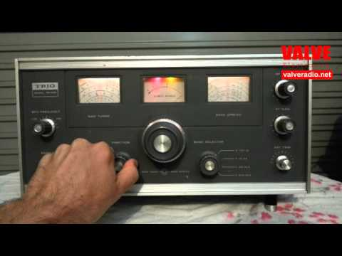 Trio 9R-59D DS Communications Receiver With Synchronous Detector
