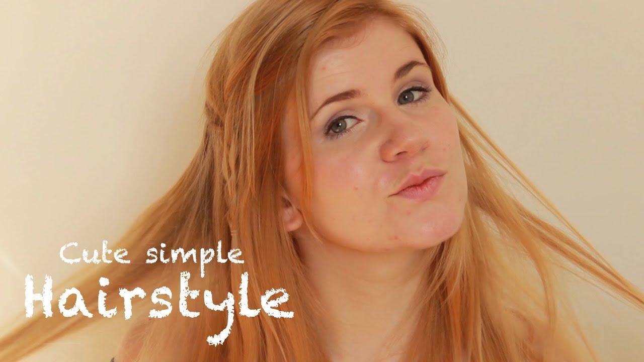 Einfache Frisur Für Mehr Volumen Für Feines Haar YouTube