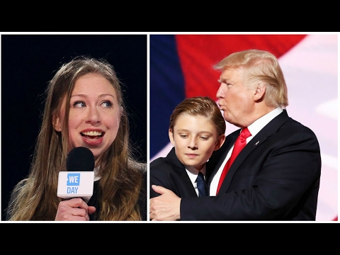 Chelsea Clinton defends Barron Trump on Twitter