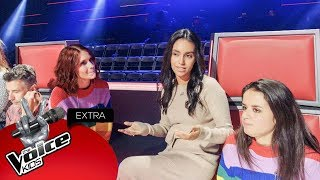 Team K3's voorbereiding op de finale! | The Voice Kids Extra 2018