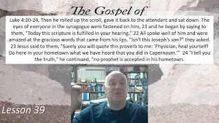 Luke 4:20-24 Lesson 39 February 25,2021