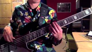 Simple Minds - Up On The Catwalk (Bass Cover)