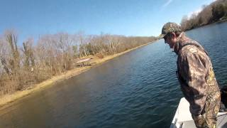 Fishing for Brown Trout on Arkansas