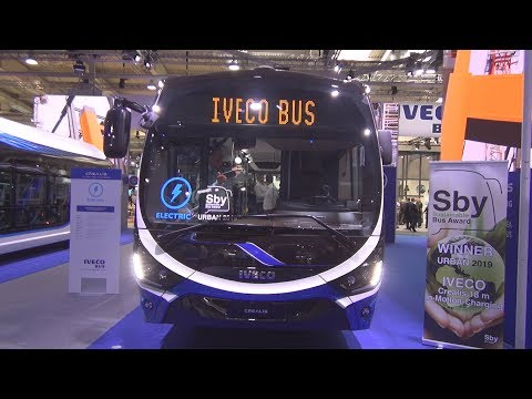 Iveco Crealis-In-Motion Charging 18 M Electric Bus (2019) Exterior And Interior