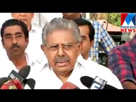Vayalar Ravi against Mani Shankar Aiyer on leadership change demand  | Manorama News