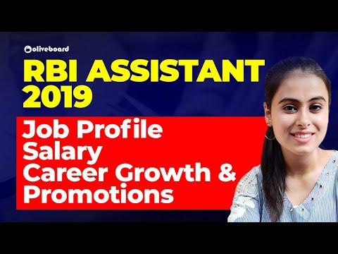 RBI Assistant 2019   Job Profile, Salary, Career Growth & Promotions