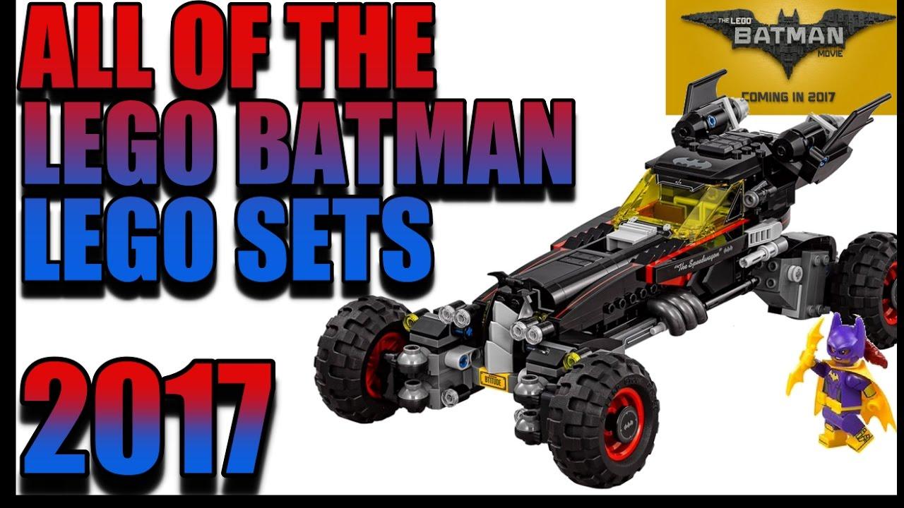 ALL THE LEGO BATMAN MOVIE LEGO SETS FOR JAN 2017 - YouTube