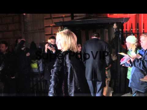 Mariella Frostrup - Celebrity Video Sightings on February...