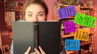 One of Hailey in Bookland's most viewed videos: Top 6 Tips to Read More!