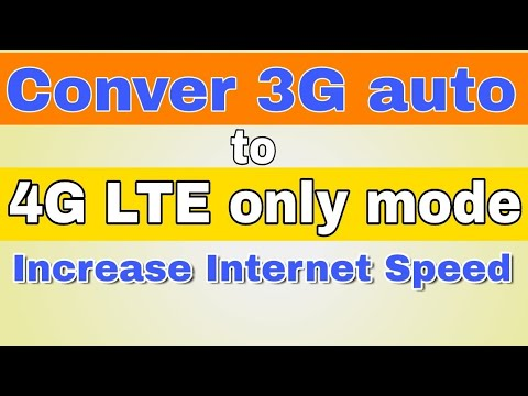 4G/LTE Only Mode in All Samsung   Increase Internet Speed