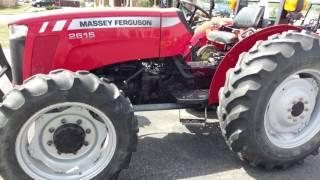 2010 Massey Ferguson 2615 4x4 Tractor Holmes Rental Station Millersburg Ohio