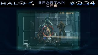 HALO 4: SPARTAN OPS | #034 - Invasion: The Gun | Let's Play Halo The Master Chief Collection
