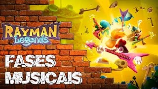 Huliplay Rayman legends [Blue Ray + 2 fases musicais]