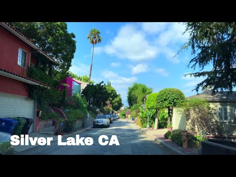 🔴  Silver Lake Realtor Driving Tour 4K